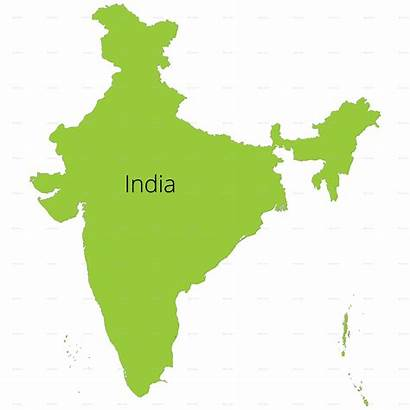 India Outline Map States