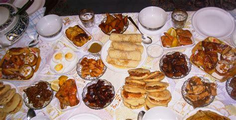 cuisine du ramadan produits à forte consommation durant ramadan le
