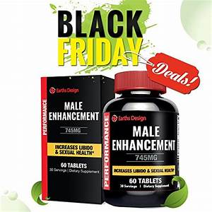 All Natural Male Enhancement Pills  Testosterone Booster Supplement With Pure Maca Root  L