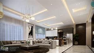 Modern, Living, Room, -, Residential, -, Villa