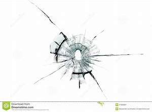 Bullet Hole Glass Graphic In Vector Pictures
