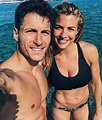 Gemma Atkinson and Gorka Marquez give us ab goals in ...