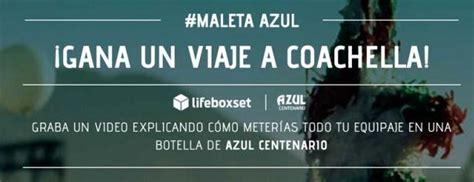 Concurso Lifeboxset y Azul Centenario te llevan a Coachella