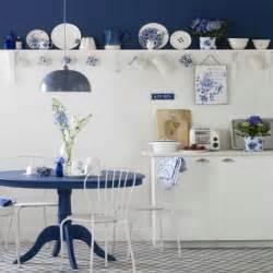 blue and white kitchen ideas blue and white country kitchen kitchen design ideas housetohome co uk