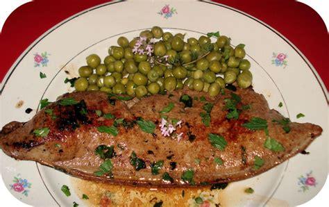 cuisiner le foie de boeuf foie de veau poêlé paperblog