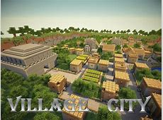Village City NPC Village transformed into a big city