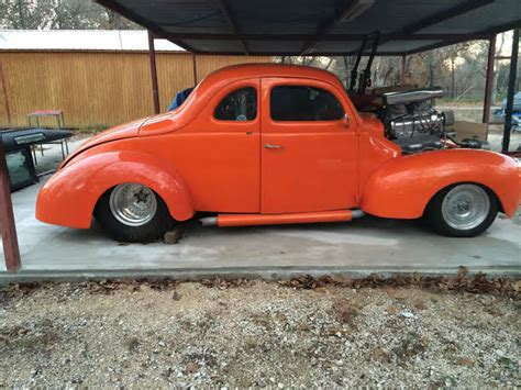 1939 Ford Coupe Pro Street for sale