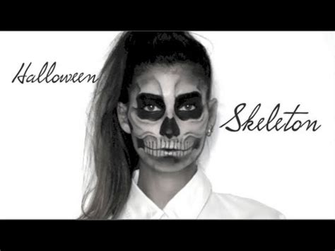 Maquillage Squelette Lufy Squelette Maquillage Facile Skeleton Make Up Gaga Born This Way