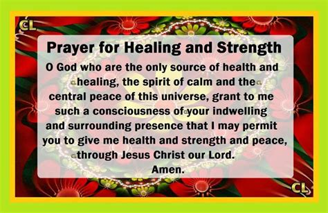 prayer  healing  strength quotes prayers
