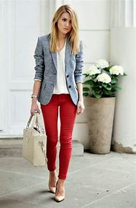 60 Casual Work Outfits for Spring to try this Year - Fashiondioxide