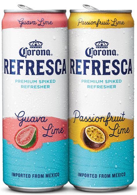 Corona Enters Flavored Malt Beverage Market With 'Refresca ...