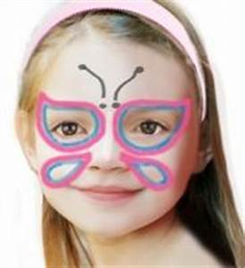 Maquillage Simple Enfant : modele maquillage papillon facile ~ Farleysfitness.com Idées de Décoration
