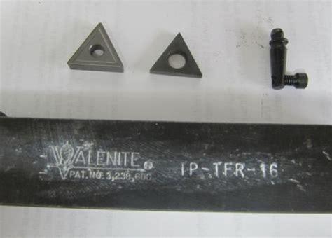wtb parts  valenite carbide insert lathe tool