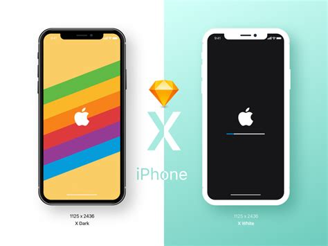 Apple Logo Iphone Xr Border Wallpaper by Iphone X Mockup Sketch Freebie Free Resource