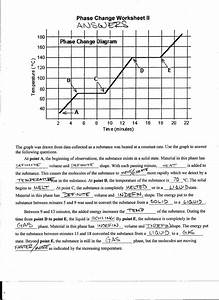 11  Phase Change Worksheet Answers With Work