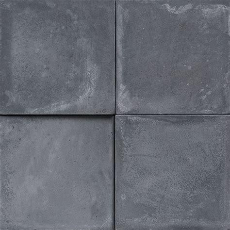 Cement Encaustic Tile Grey # 10A ~ Eco Tile Factory