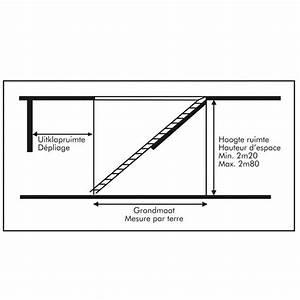 Escalier Escamotable Grenier : escalier escamotable isol pour grenier trappe 120x60cm ~ Melissatoandfro.com Idées de Décoration