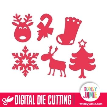 How to make shapes with css. Assorted Christmas Shapes - TotallyJamie: SVG Cut Files ...