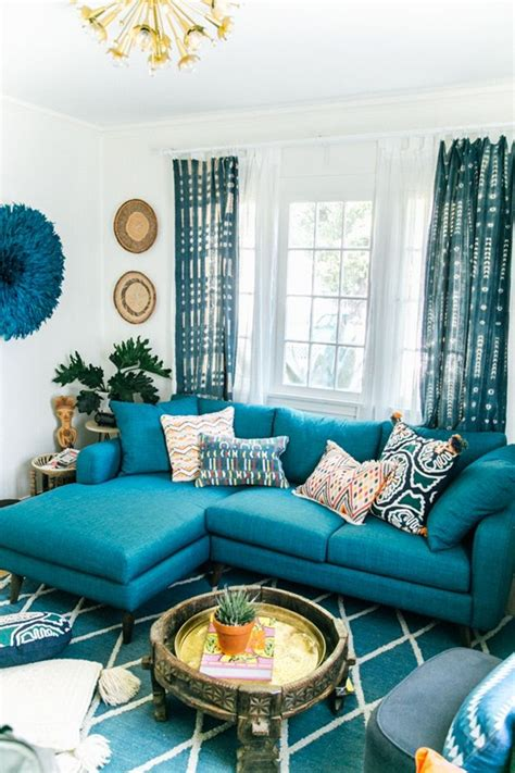 Teal Home Decor Ideas   Tips For Choosing Teal Living