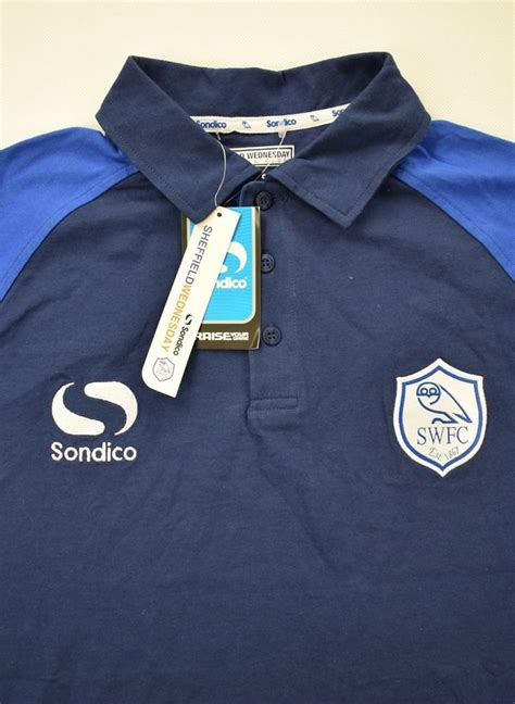 SHEFFIELD WEDNESDAY SHIRT L Football / Soccer ...