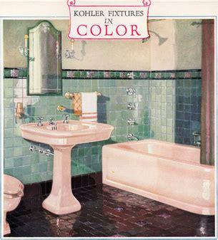 1920s Bathroom Light Fixtures by 1920s Kohler Color Fixtures Bathroom Fixtures
