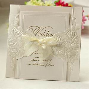 ems free 200 pcs laser cut vintage wedding invitations With cost of 200 wedding invitations