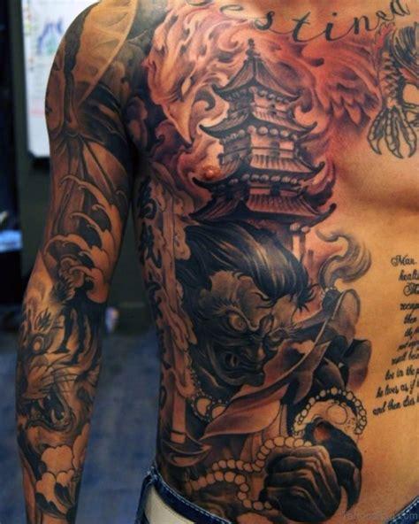 fantastic chest tattoos  men
