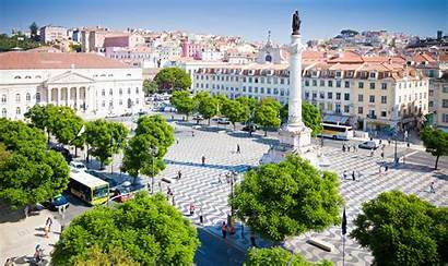 Lisboa Portugal Lisbon Latest Background Beaches Centre