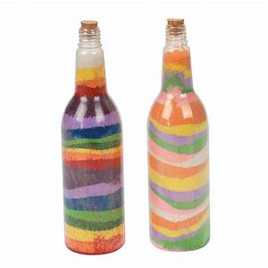 Tropical Sand Art Bottles - Oriental Trading