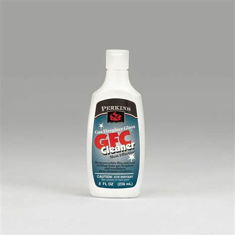 gas fireplace glass cleaner home depot gfc gas fireplace glass cleaner