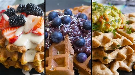 Explore our classic brunch recipes, from pancakes and smoothies to eggs and fritters. Gluten Free Dairy Free Sugar Free Waffles, Healthy ...