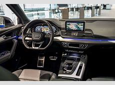 2017 Audi Q5 In Navarra Blue Metallic On Display In