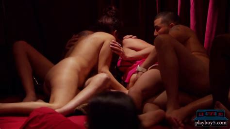 Newbie Swinger Couple In Hot Orgy Sex For The First Time