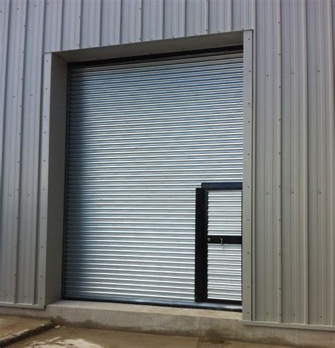 Roller Shutter Door incorporating wicket gate - Miracle Span