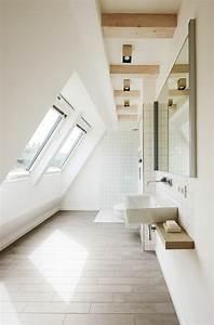 Salle D Eau 3m2 : une salle de bain sous pente ou sous combles en 52 photos ~ Dailycaller-alerts.com Idées de Décoration