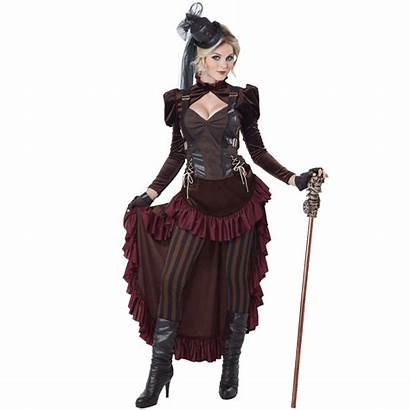 Steampunk Costume Womens Victorian Cal Medieval Collectibles