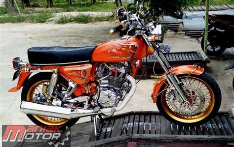 Gl Pro Modif Cb by Modifikasi Klasik Basic Gl 100 Tahun 1982 Bermesin Tiger