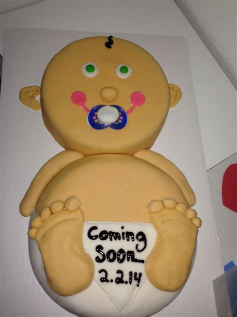 pregnancy announcement baby cake surprise cakes
