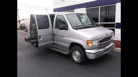Ford Wheelchair Lift Van