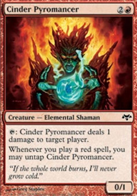Mtg Pyromancer Deck Modern by Worm Burn Legacy Mtg Deck