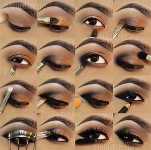 Easy step by step smokey eye makeup | *Makeup* | Pinterest ...
