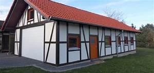 Holzhalle Selber Bauen : satteldach carport holzgaragen als individueller bausatz ~ Lizthompson.info Haus und Dekorationen