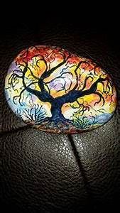 1452 best pebbles and stones trees images on pinterest for Best brand of paint for kitchen cabinets with wire tree of life wall art