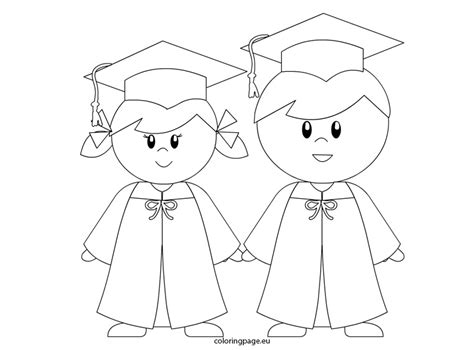 graduation coloring pages getcoloringpagescom
