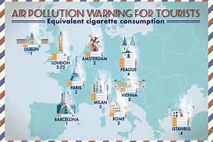 Carte Pollution Air : la pollution de l 39 air une menace pour le touriste urbain ~ Medecine-chirurgie-esthetiques.com Avis de Voitures