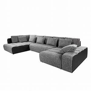 Stoff Für Couch : wohnlandschaft ecksofa stoff grau schlafsofa schlafcouch sofa couch eckcouch neu ebay ~ Markanthonyermac.com Haus und Dekorationen