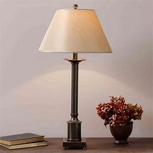 Bedroom, End, Table, Lamps