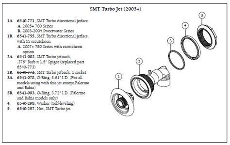 sundance spa smt turbo jet   spa parts store