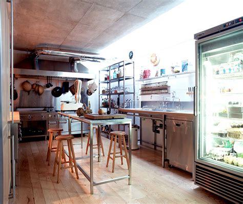 restaurant style kitchen decor design  gad architecture