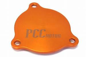 Aluminum Oil Pump Cover Orange Ktm 250 350 450 500 530 Sxf